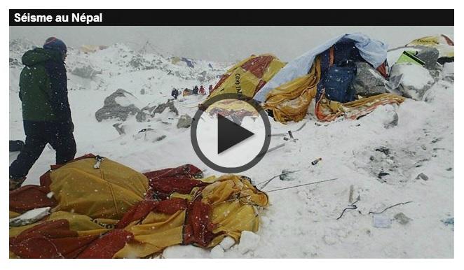 Séisme au Népal