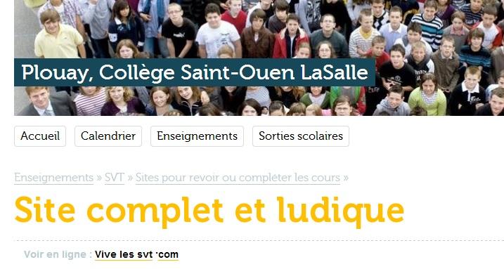 collège saint ouen La Salle