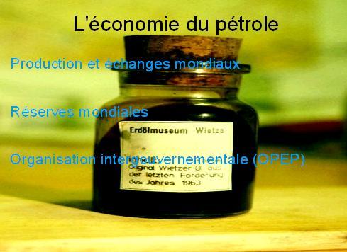 economie-du-petrole