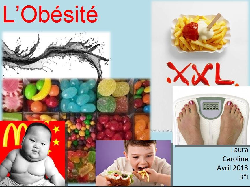 obésité exposé svt