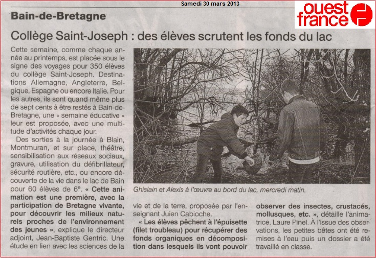 article Bretagne Vivante 2013