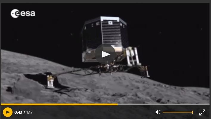 rosetta mission Philae CNES ESA
