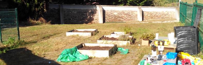 jardin éco école Collège Adoration Rennes