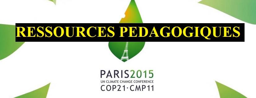 ressources pédagogiques climat SVT COP 21