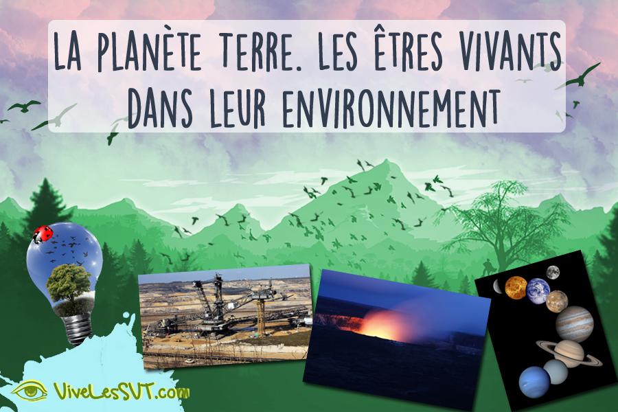 La plan te terre l 39 action humaine sur son environnement for 6eme planete