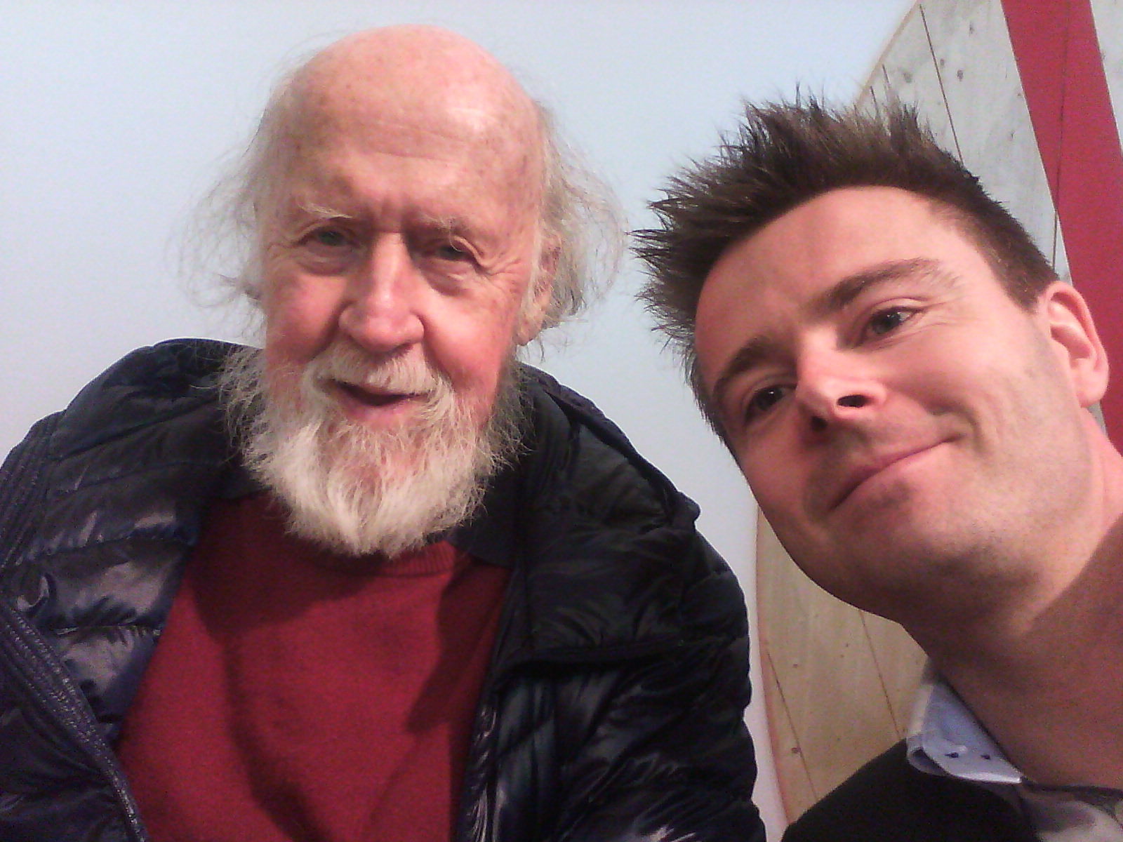 Hubert Reeves et Julien Cabioch