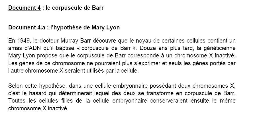 corpuscule de Barr SVT