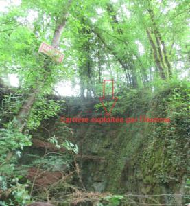 Sortie Géologique Mézières-sur-Couesnon Ille et Vilaine érosion sédimentation (2)
