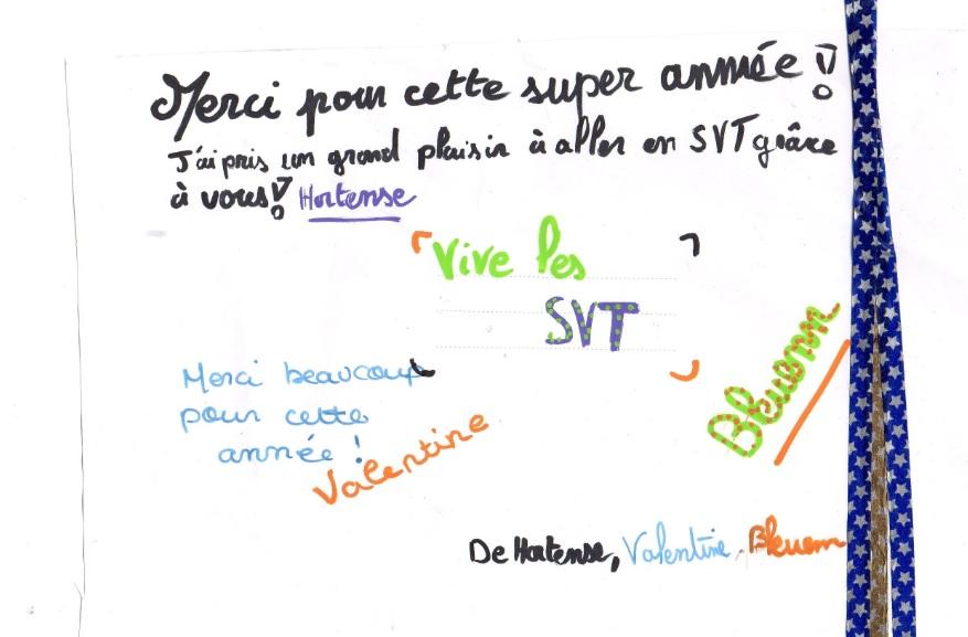 un an de SVT collège Assomption Rennes classe de 5ème (24)