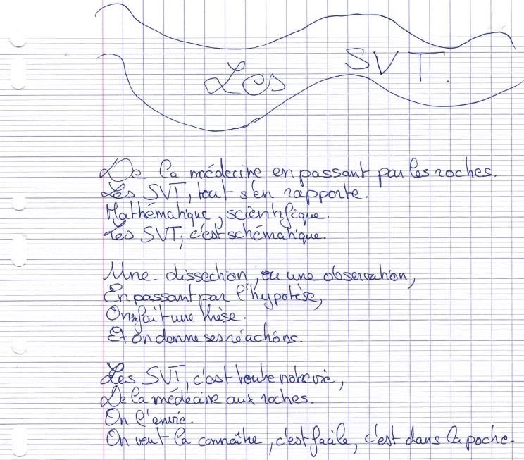 un an de SVT collège Assomption Rennes classe de 5ème (8)