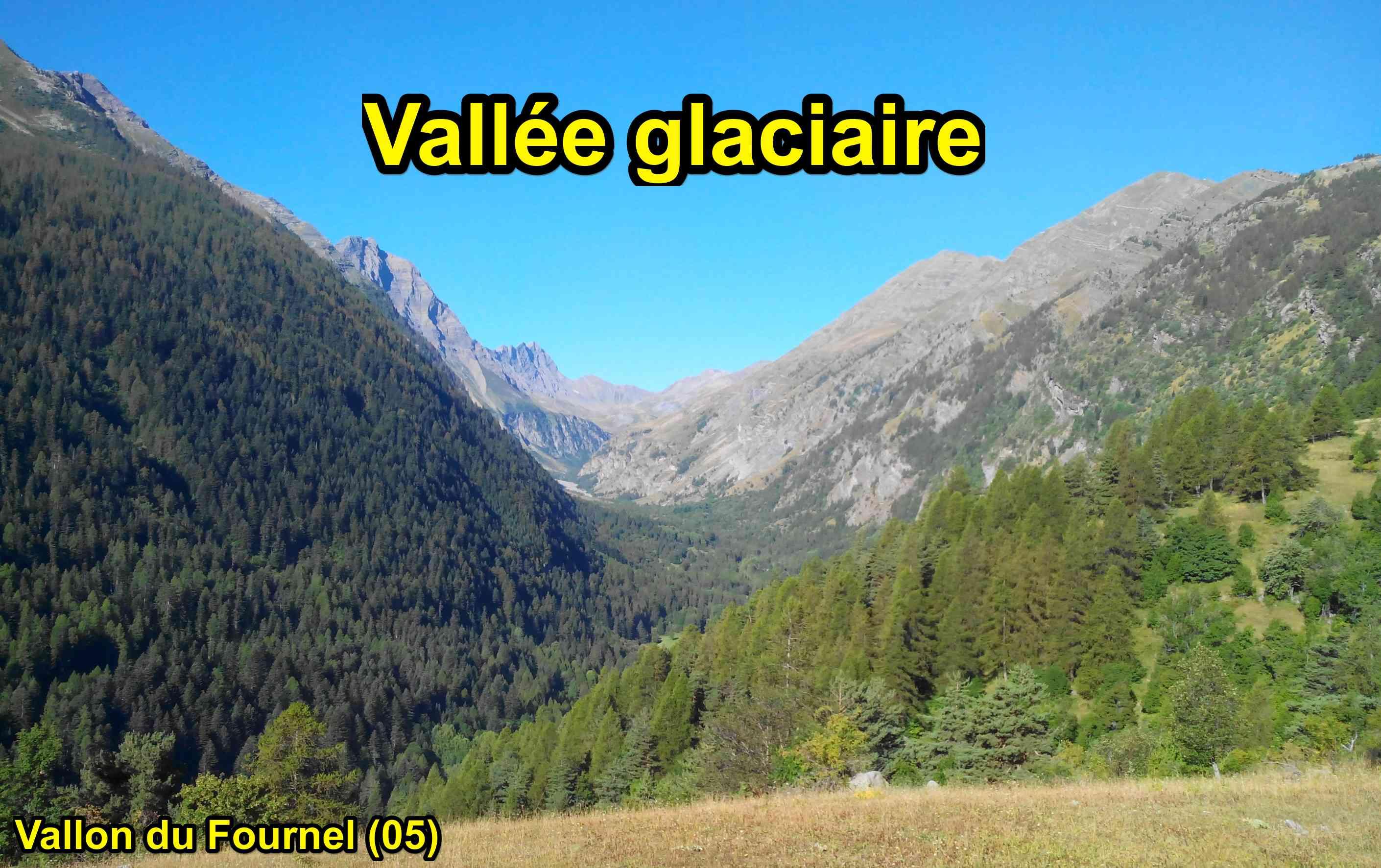 vallée glaciaire vallon du fournel hautes alpes