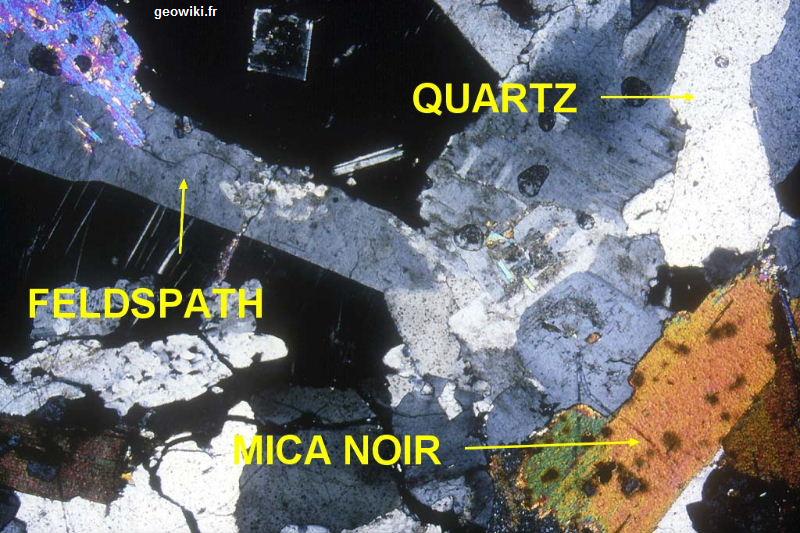 etude-mineralogique-du-granite-svt-lumiere-polarisee-et-analysee