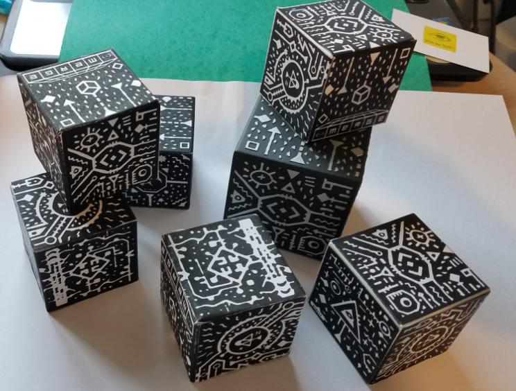 Merge Cube SVT réalité augmentée