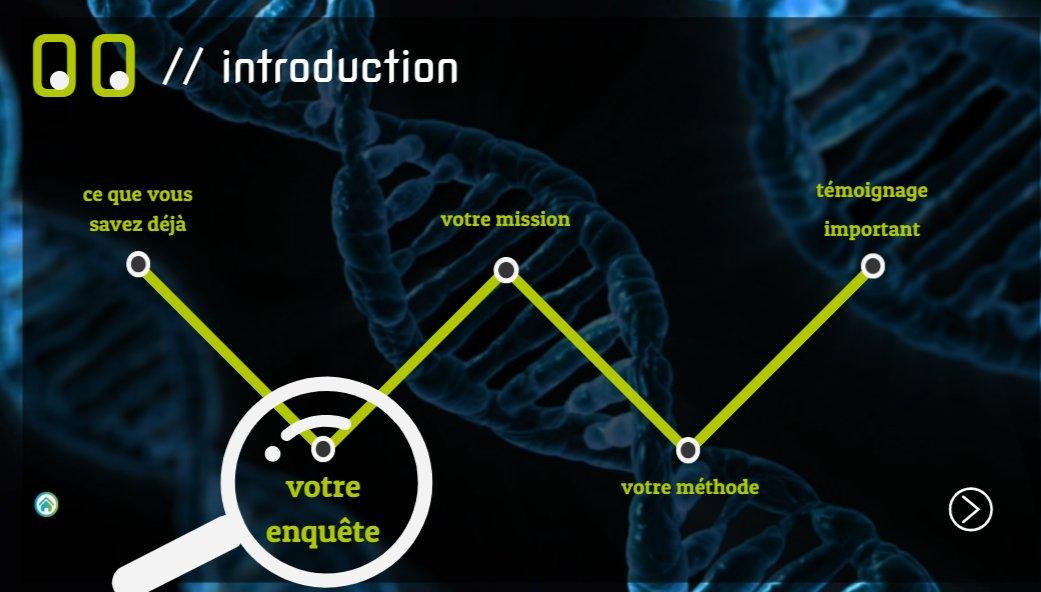 Stabilité de l'information génétique enquête rondement menée par les 1ères S avec Réplic'ADN