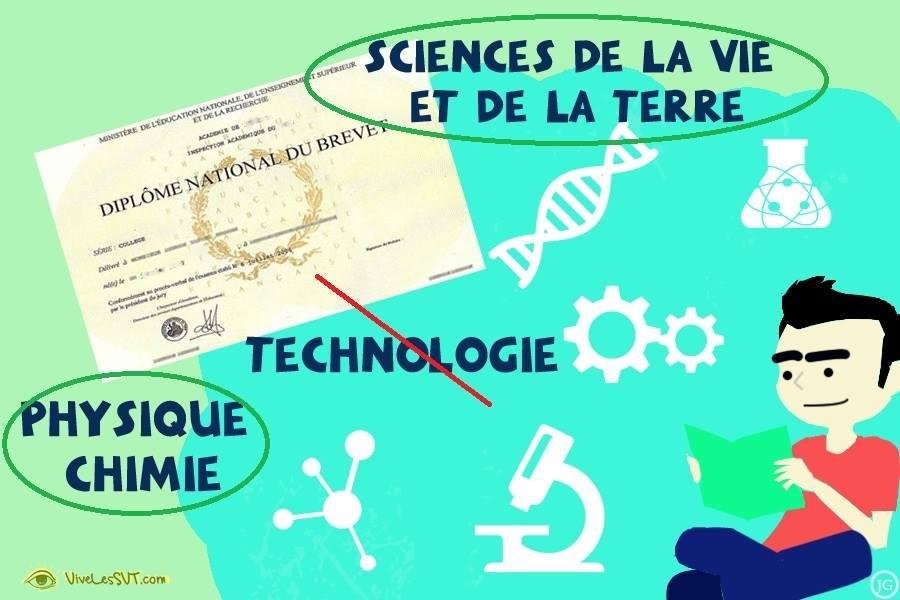 brevet des colleges 2019 DNB SVT physique chimie
