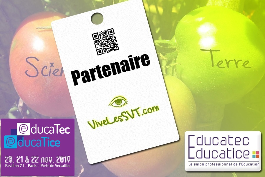 Salon de l éducation 2019 Educatec Educatice VivelesSVT