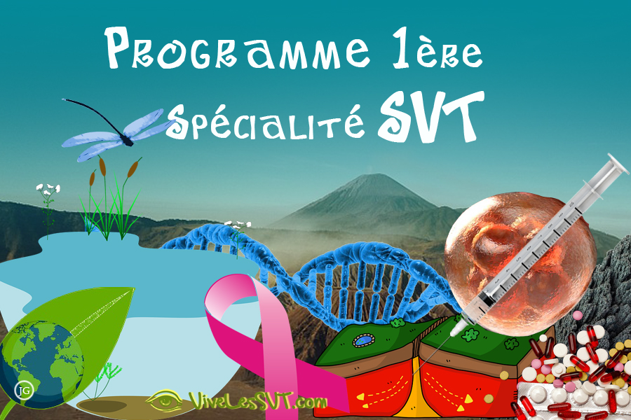 Les SVT en 1ère Spécialité SVT