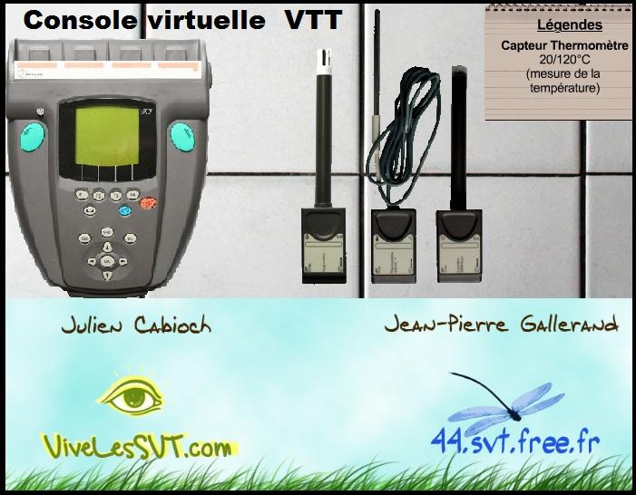 console virtuelle VTT