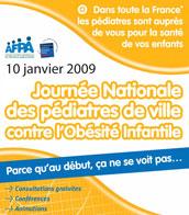 9 et 10 janvier : Journée Nationale Dépistage Obésité