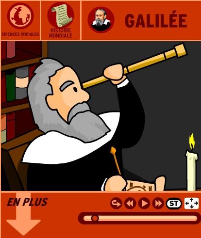 Les découvertes de Galilée