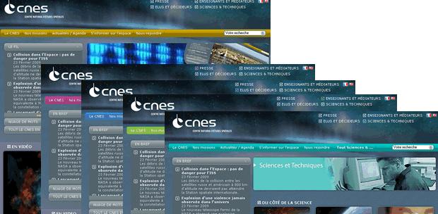 Nouveau site pour le CNES