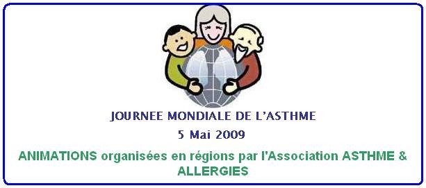 La journée mondiale de l'asthme