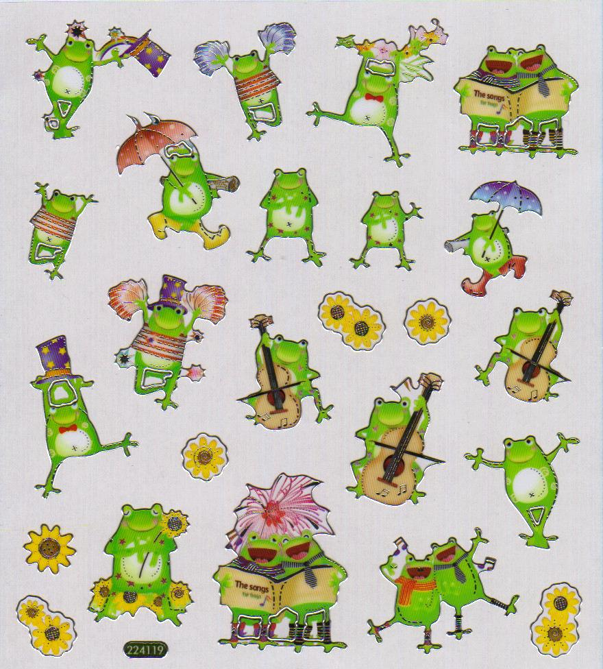 gomettes-grenouilles