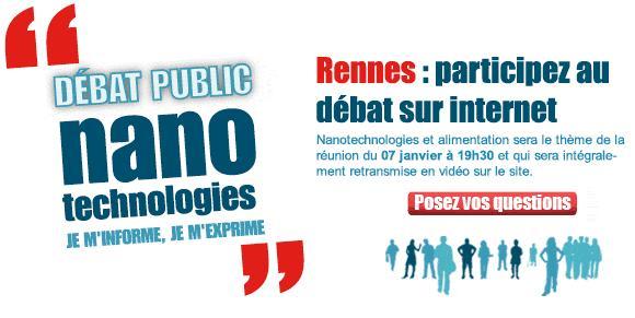 Les nanotechnologies en débats à Rennes