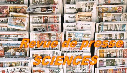 Revue de presse SCIENCES – avril 2010
