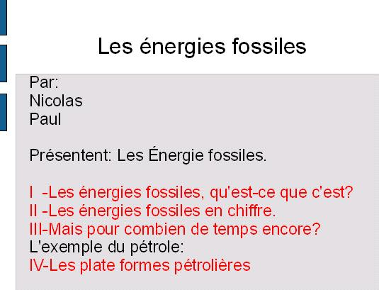 energie-fossile