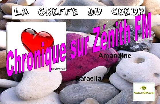La greffe de coeur – chronique SVT sur Zénith FM