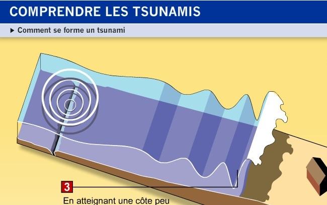 Comprendre les tsunamis, les sismomètres et les bâtiments parasismiques