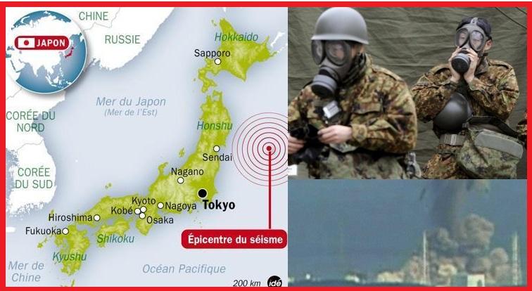 Séisme et Tsunami au Japon – 11 mars 2011 –