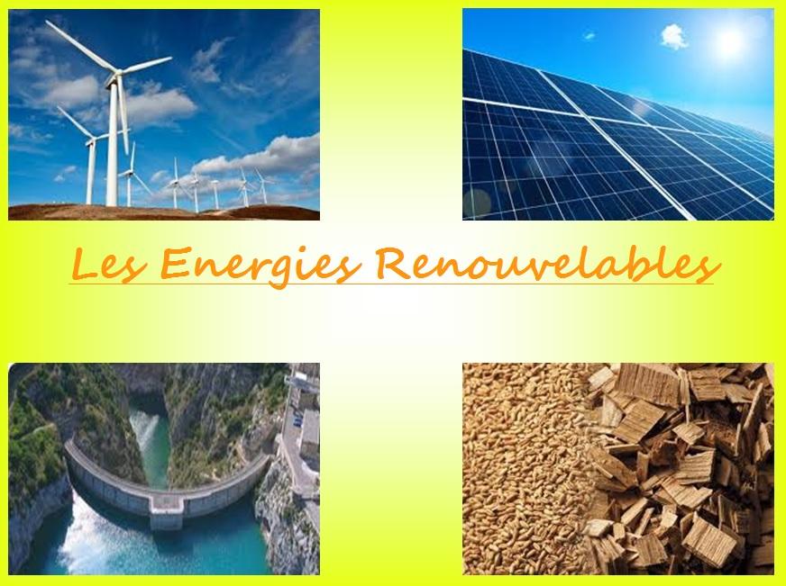 énergies renouvelables svt exposé