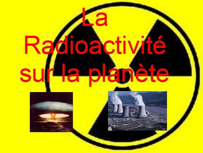 Les pollutions radioactives dans l'environnement