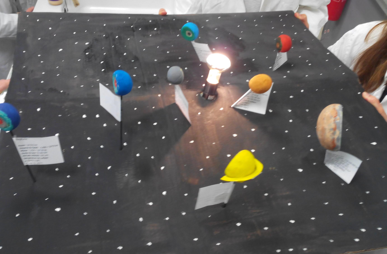 Modélisation du système solaire SVT 2nde (2)