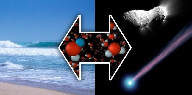 Les comètes ont-elles apporté l'eau sur Terre ?