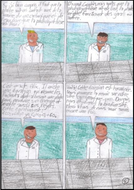 La photosynthèse en bande-dessinée