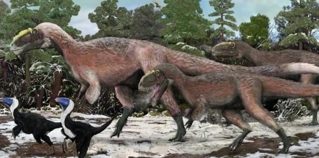 Quel est le plus gros animal à plumes de la famille du T.Rex ?