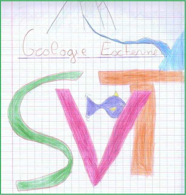 La géologie vue par les 5èmes