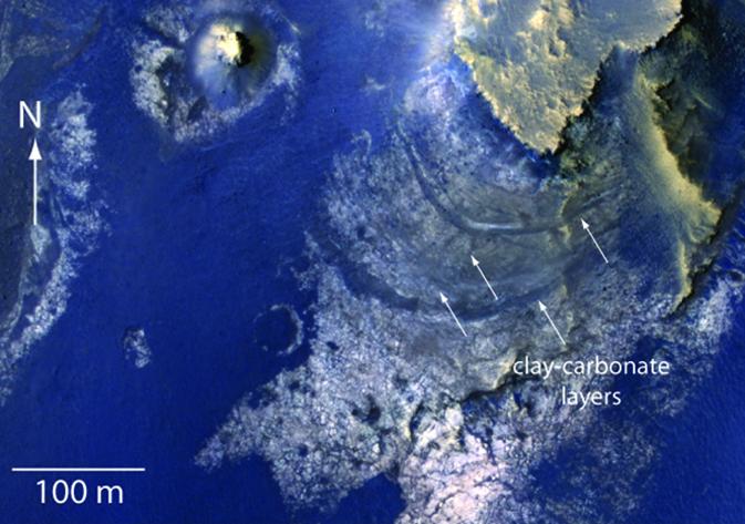 Le cratère McLaughlin sur Mars était-il un lac ?