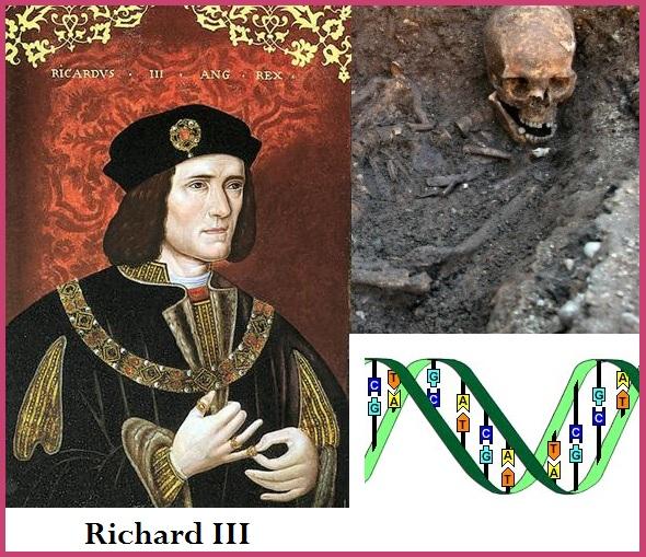 Génétique : le squelette du roi Richard III