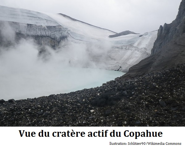 Chili : le volcan Copahue menace