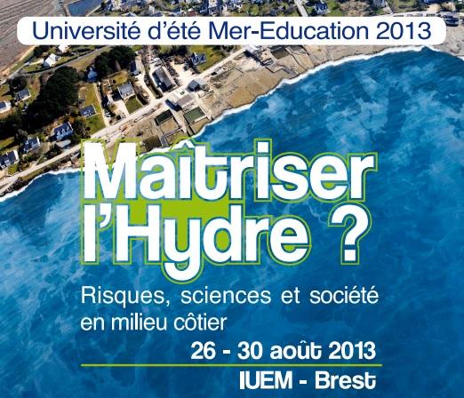 université d'été mer éducation 2013