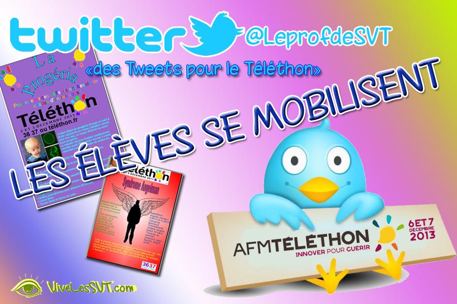 téléthon twitter vivelessvt