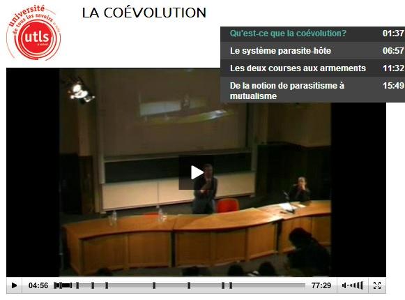 conférence co évolution