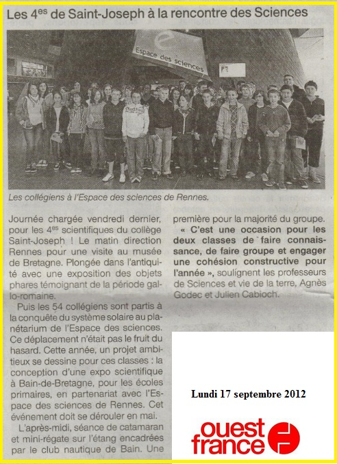 article OF intégration 4eme 2012 (2)