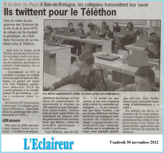 article Twitter Eclaireur