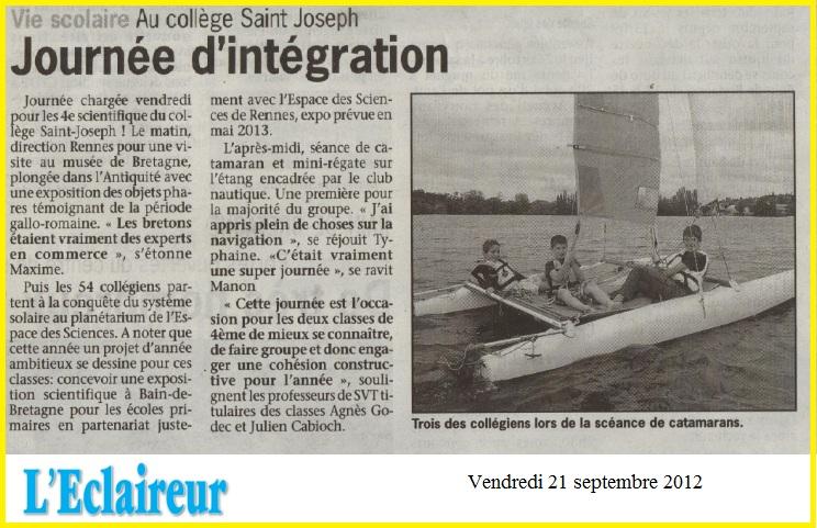 journée intégration éclaireur sept 2012