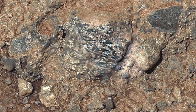 Curiosity découvre de la croûte continentale sur Mars
